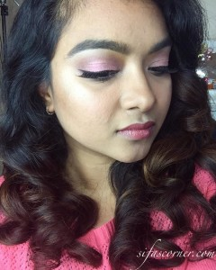 Happy weekend! Loving this all pink ensemble Eyes by chaosmakeupartisthellip
