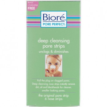 biore pore strips how to use
