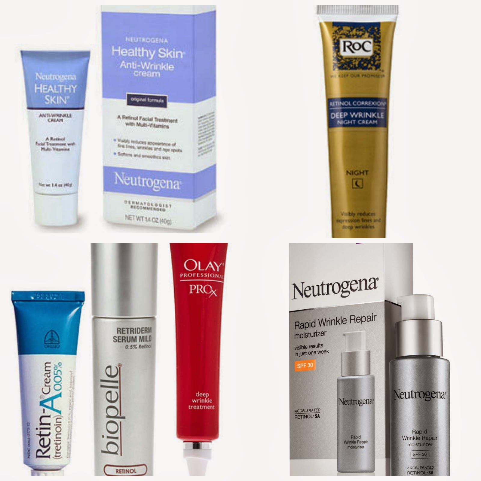 Natural Products To Reduce Wrinkles