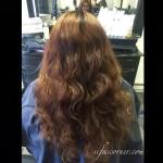 Buh-bye orange hair! Watching @_angelhart_ working her magic on my…