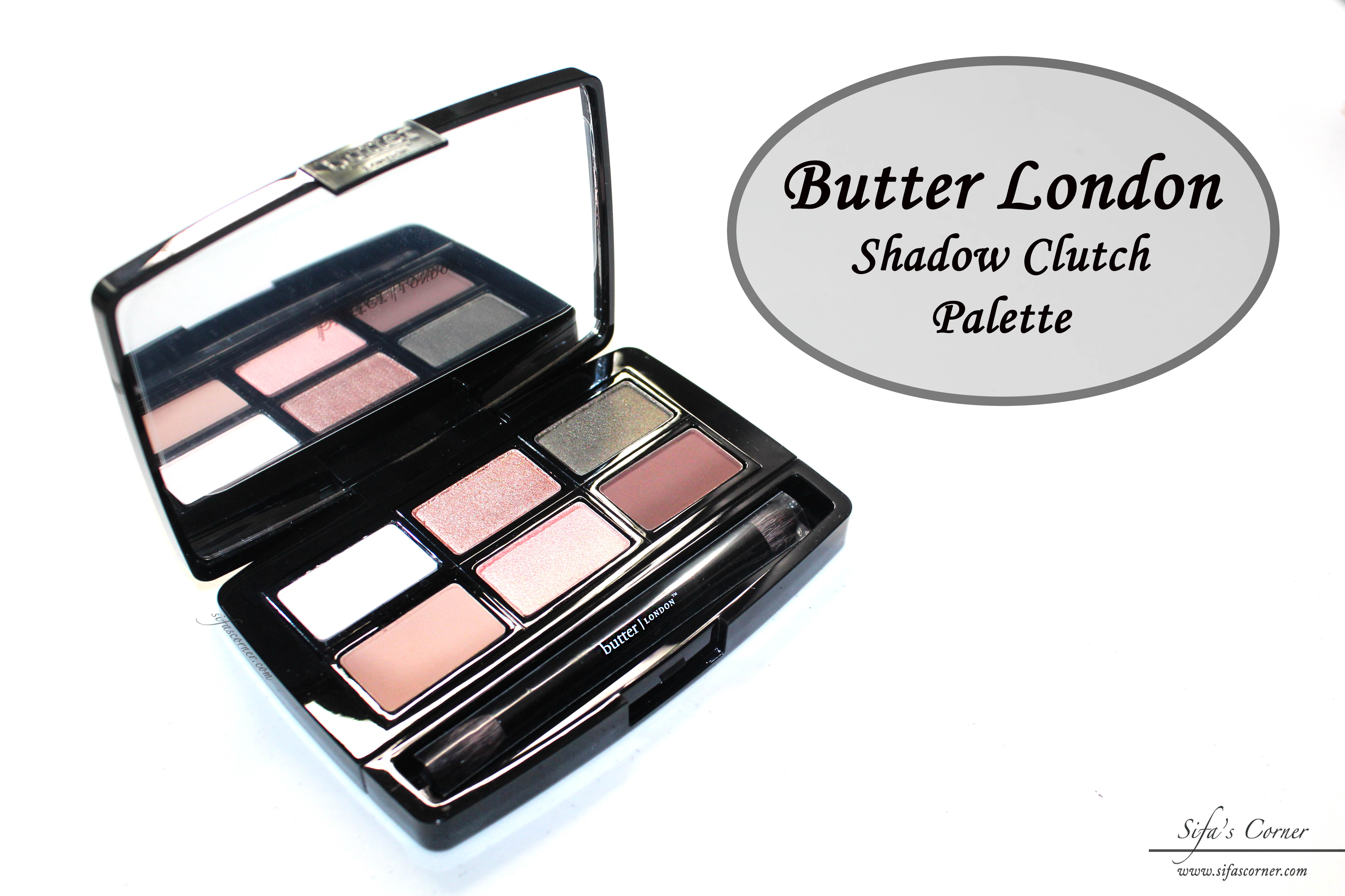REVIEW: Butter London Shadow Clutch Palette