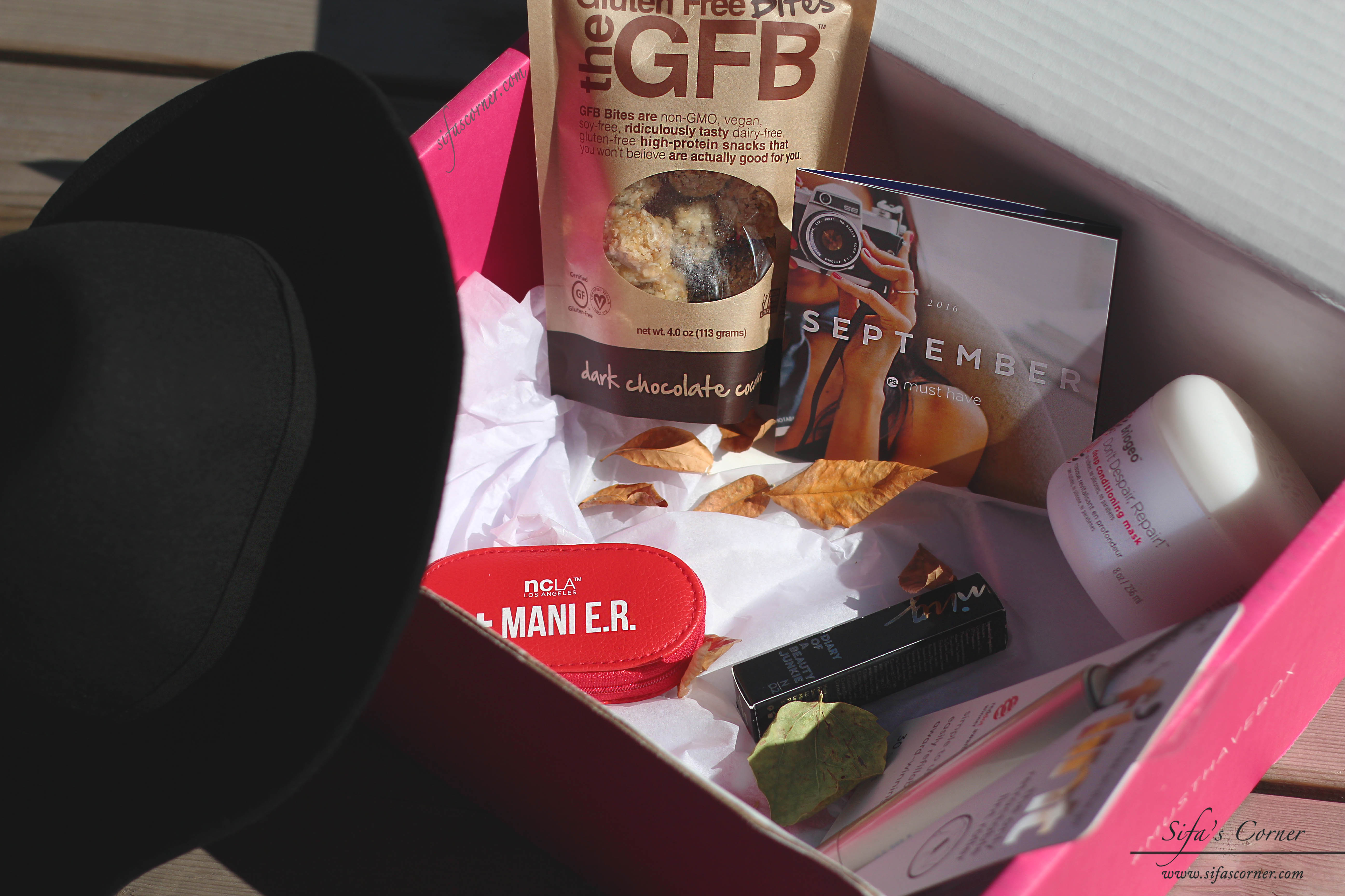 Starting Fall Season with: POPSUGAR September Must Have Subscription Box
