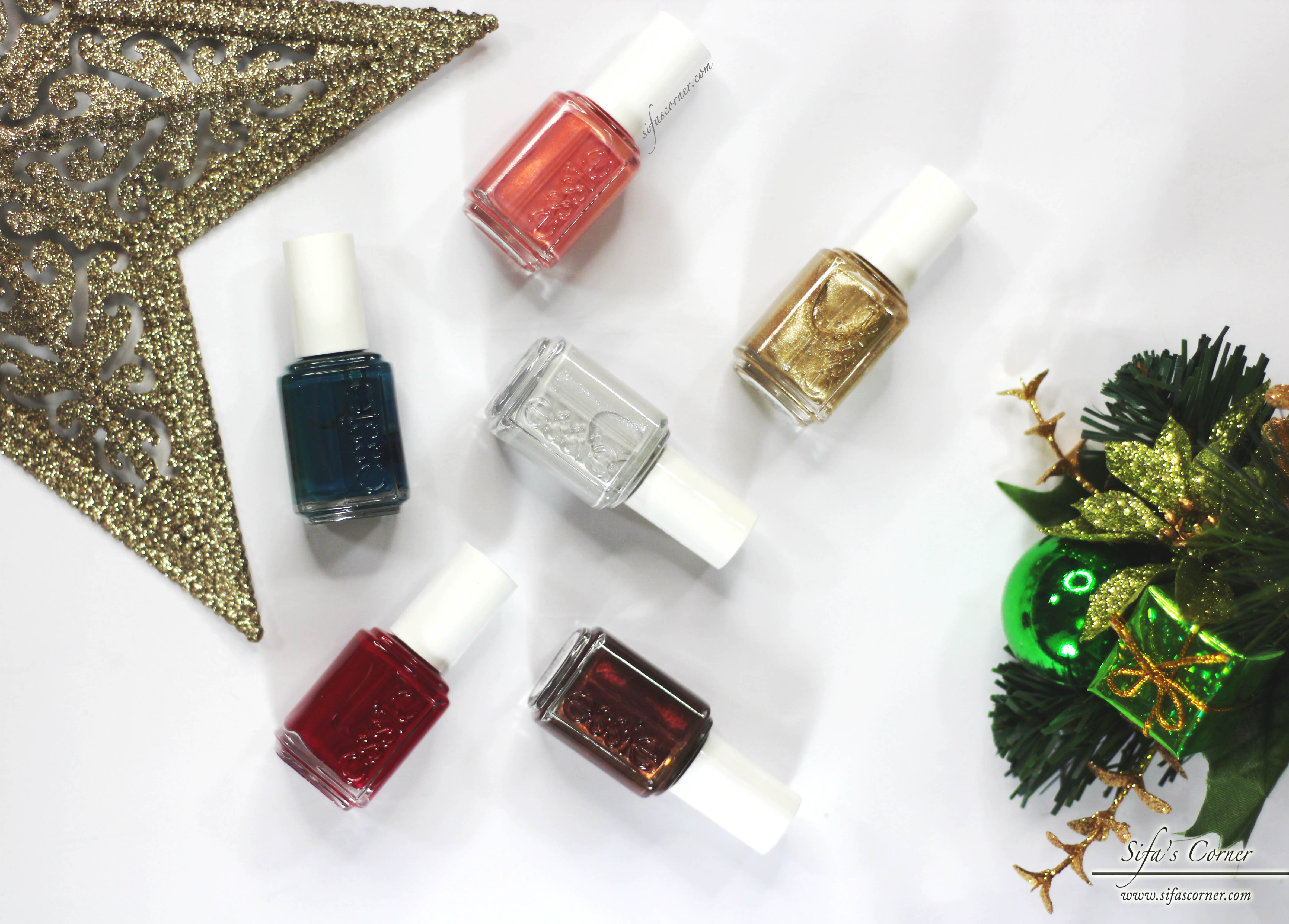 essie 2016 winter collection  review  u0026 swatches