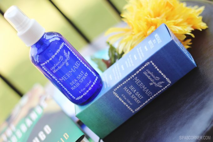 June POPSUGAR Must Have Box-CAPTAIN BLANKENSHIP Mermaid Sea Salt Hair Spray